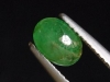 Emerald 0,91 Ct. oval cabochon 7 x 5 mm Brazil