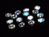 Adular blue Moonstone lot 2,28 Ct. fine faceted 15 pieces