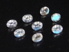 Adular blue Moonstone lot 1,18 Ct. fine faceted 8 pieces