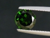 Chrome Diopside 1,38 Ct. round, bottle green, Russia