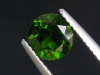 Chrome Diopside 1,51 Ct. round, bottle green, Russia