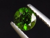 Chrome Diopside 0,51 Ct. round, bottle green, Russia