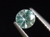 Blue Zircon / Starlite 0,58 Ct. fine diamond cut