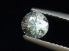 Bright Blue Zircon / Starlite 0,95 Ct. fine diamond cut