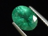 Emerald 1,65 Ct. finest color 8,5 x 6,5 mm oval - Zambia