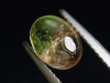 Tourmaline bicolor 1,95 Ct. oval cabochon rose & green Brazil