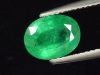 Emerald 1,97 Ct. top color - oval Zaire