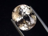 Topas 10,98 Ct. hellbraun Naturfarbe 13,5 x 11,5 mm Oval