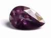 Colorchange Garnet 1,40 Ct. pear - greygreen to violet - Madagascar