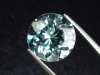 Blue Topaz 10,57 Ct. rare natural color 13 mm round