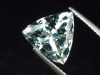 Blue Topaz 5,72 Ct. rare natural color 11,5 x 11,5 mm Trillion