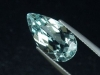 Blue Topaz 6,05 Ct. rare natural color 16 x 9 mm pear