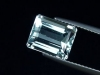 Blue Topaz 5,13 Ct. rare natural color 10 x 8 mm octagon