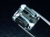 Blue Topaz 9,83 Ct. rare natural color 12,5 x 10,5 mm octagon