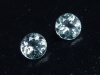 Blue Topaz 2,24 Ct. rare natural color 6 mm round