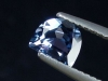 Blue Spinel 1,00 Ct. half moon cut Tanzania