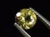 Goldberyll / goldener Edelberyll 0,74 Ct. Rund 6 mm Brasilien