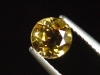 Goldberyll / goldener Edelberyll 0,89 Ct. Rund 6 mm Brasilien