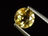 Goldberyll / goldener Edelberyll 0,73 Ct. Rund 6 mm Brasilien