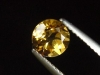 Goldberyll / goldener Edelberyll 0,93 Ct. Rund 6 mm Brasilien