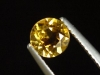 Goldberyll / goldener Edelberyll 0,70 Ct. Rund 5,5 mm Brasilien