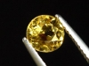 Goldberyll / goldener Edelberyll 0,94 Ct. Rund 6 mm Brasilien