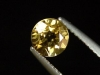 Goldberyll / goldener Edelberyll 0,76 Ct. Rund 6 mm Brasilien