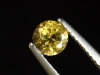 Goldberyll / goldener Edelberyll 0,52 Ct. Rund 5 mm Brasilien