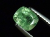 Demantoid Granat 1,17 Ct. Kissenschliff Erongo, Namibia