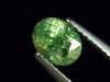 Demantoid Granat 1,33 Ct. Oval Erongo, Namibia