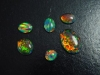 Synthetischer Opal Lot 8,10 Ct. Cabochons